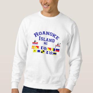 Roanoke Island NC Sig Flag Sweatshirt