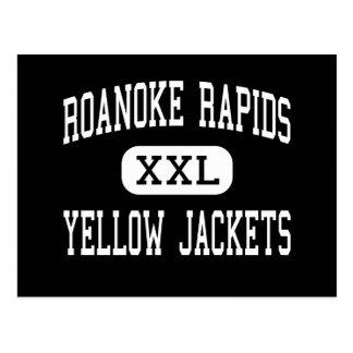 Roanoke Rapids - Yellow Jackets - Roanoke Rapids Post Cards