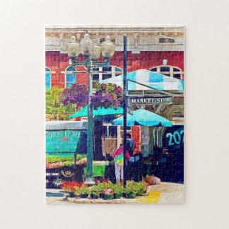 Roanoke Va - Market Street Jigsaw Puzzle