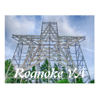 roanoke va postcard