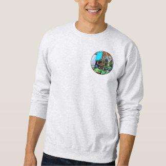 Roanoke VA - Unloading Flower Truck Pullover Sweatshirt
