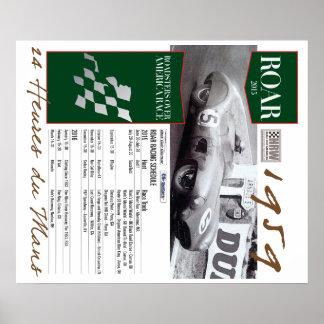 ROAR 2015 HRW Slot car racing poster
