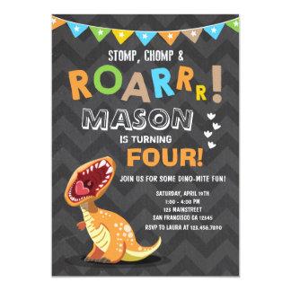 Dinosaur Birthday Invitations & Announcements | Zazzle