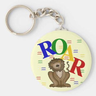 Roar Lion T-shirts and Gifts Key Chain