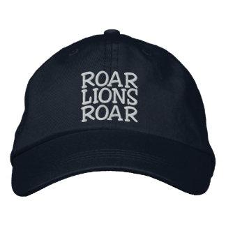 ROAR LIONS ROAR Hat Embroidered Baseball Caps