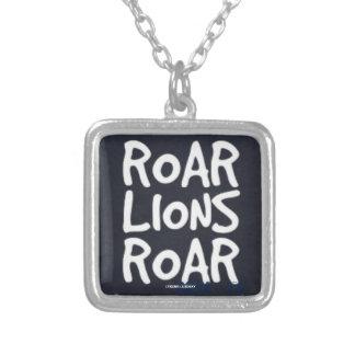 ROAR LIONS ROAR SILVER PLATED NECKLACE