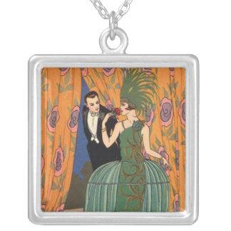 Roaring 1920s Flapper Vintage Art Deco Necklace 2