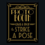 "Roaring 20&#39;s Art deco Photo Booth print<br><div class=""desc"">Roaring 20&#39;s Art deco Photo Booth print</div>"