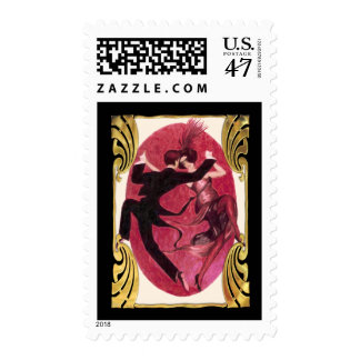 Roaring 20's Dancing Couple Postage