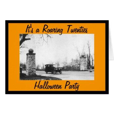 Rebecca_Reeder Roaring 20's Halloween Party Costume Card