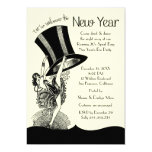 Roaring 20's New Year's Eve Party Card