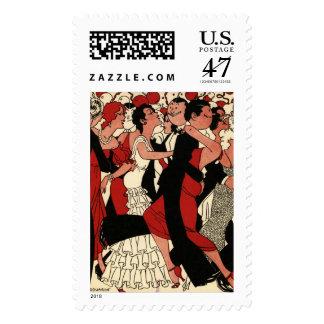 Roaring 20s postage