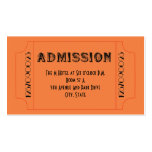 Roaring 20's Speakeasy Theme Party Tickets Business Card