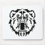 Roaring bear mousepad