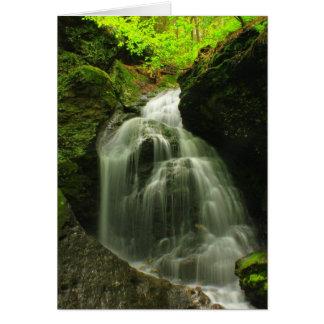 Roaring Brook Falls Mount Toby Card