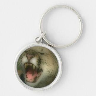 'Roaring Cougar' Keychain