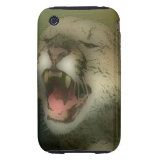 'Roaring Cougar' Tough iPhone 3 Case