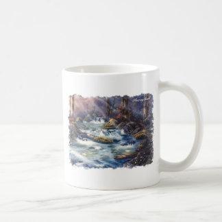 Roaring Creek Coffee Mug Basic White Mug