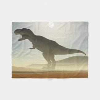 Roaring Dinosaur Fleece Blanket