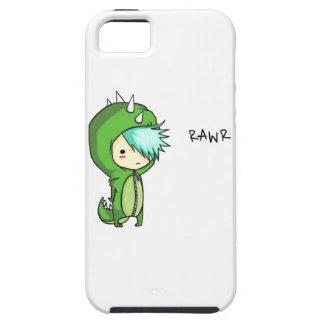 roaring dinosaur kid iPhone 5 cases