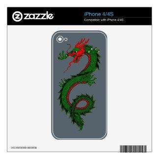 Roaring Dragon iPhone 4/4S Skin iPhone 4S Decal