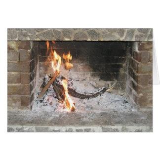 Roaring Fire Card