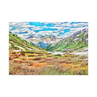 Roaring Fork River, Headwaters No. 1 Canvas Print