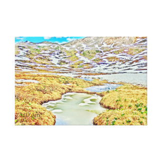 Roaring Fork River, Headwaters No.2 Canvas Print