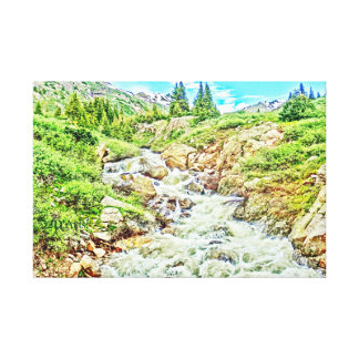 Roaring Fork River, Headwaters No. 3 Canvas Print