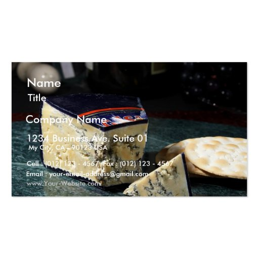 Roaring Forties Blue Cheese Business Card