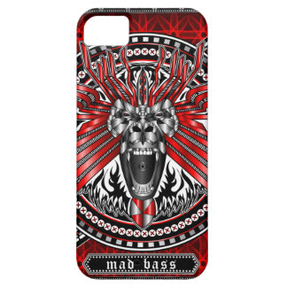 Roaring Gorilla MAD BASS iPhone 5 Covers