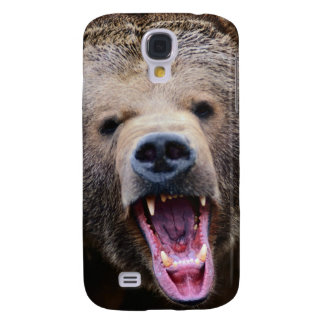 Roaring Grizzly Bear Samsung Galaxy S4 Cover
