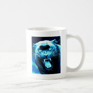 Roaring Jaguar Classic White Coffee Mug