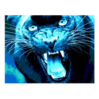 Roaring Jaguar Postcard