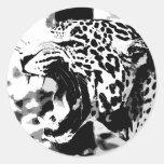 Roaring Jaguar Stickers
