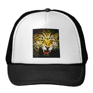 Roaring Leopard Mesh Hats