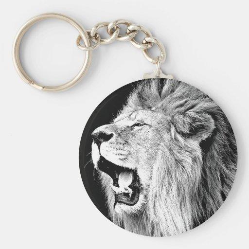 Roaring Lion Key Chains