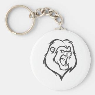 Roaring Lion Keychain