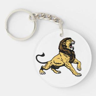 roaring lion keychains