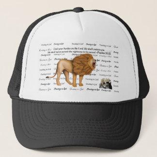 Roaring Lion Kitten Rock - Trusting n God - #4 Fai Trucker Hat