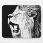 Roaring Lion Mouse Pads