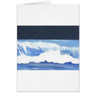 Roaring Moonlit Wave - cricketdiane ocean waves Card