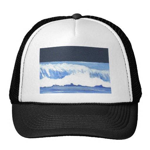 Roaring Moonlit Wave - cricketdiane ocean waves Trucker Hats