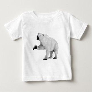 Roaring Polar Bear Baby T-Shirt