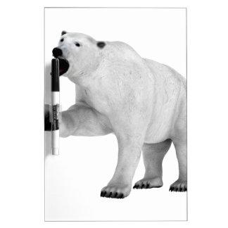 Roaring Polar Bear Dry-Erase Board