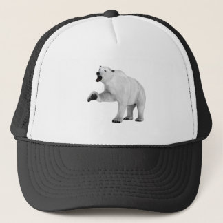 Roaring Polar Bear Trucker Hat