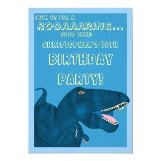 Roaring Rex (Birthday) Card
