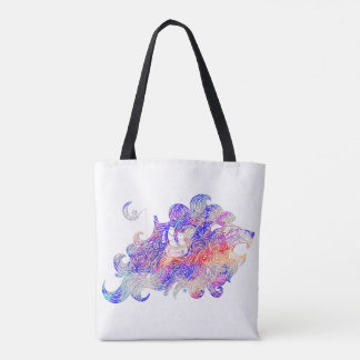 Roaring Sea Lion Intricate illustration Tote Bag