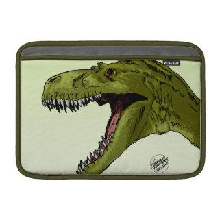 Roaring T-Rex Dinosaur by Geraldo Borges MacBook Air Sleeve