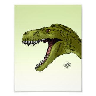 Roaring T-Rex Dinosaur by Geraldo Borges Photo Art